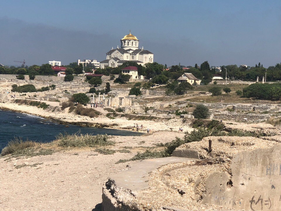 2018 год. Крым, лето.