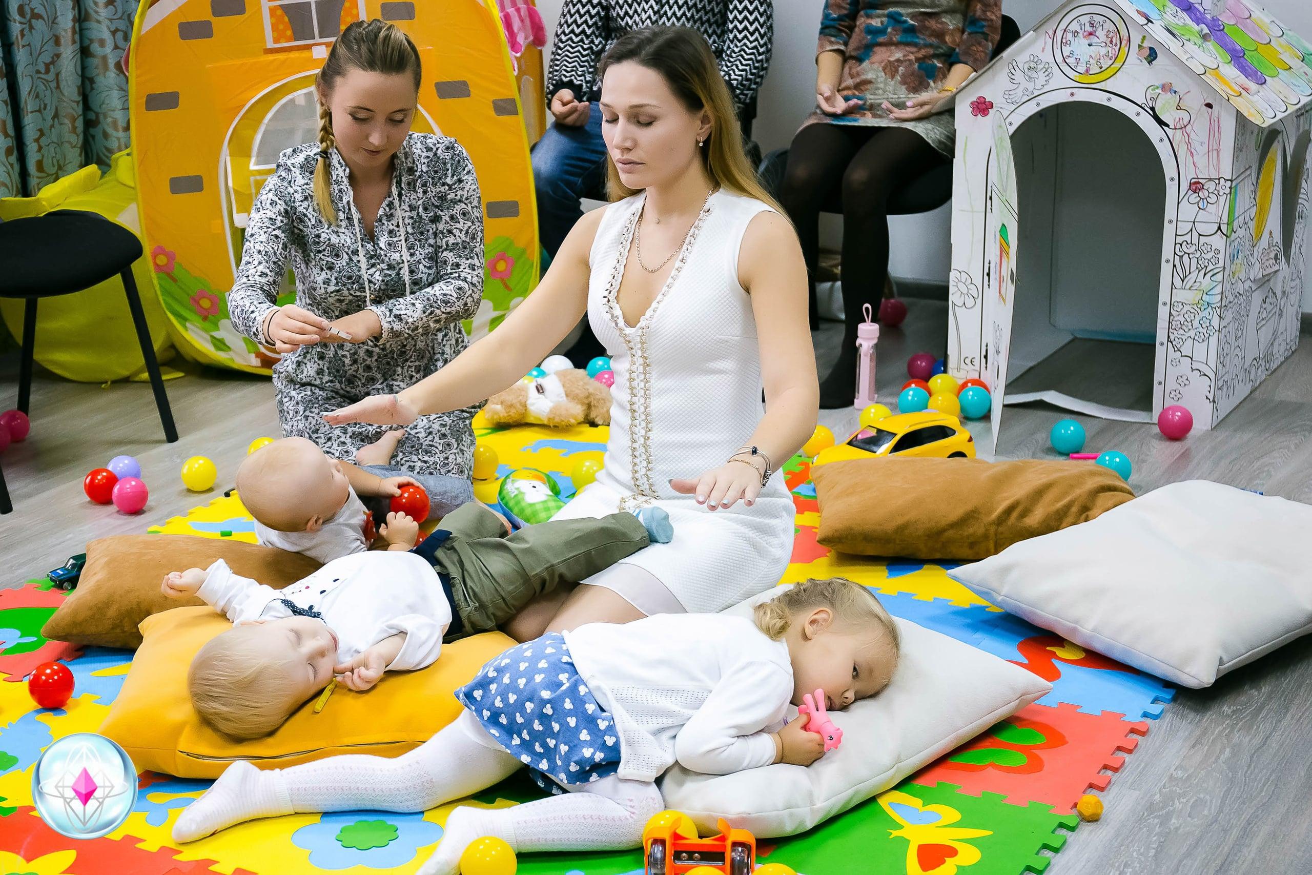 Медитации для детей (0-5 лет) с родителями